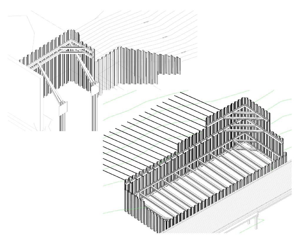 Sample Excavation & Cofferdam Support Design System