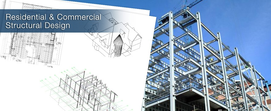 Complete Residential & Commercial Structural Design to support the architect's needs for any project.